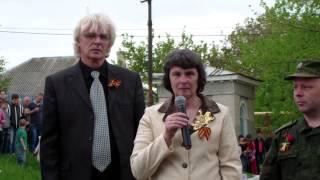 Мама погибшего Героя ДНР на открытии памятника в его честь