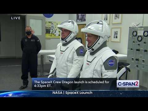 NASA SpaceX Crew Dragon Launch