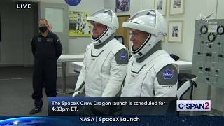NASA SpaceX Crew Dragon Scrubbed Launch