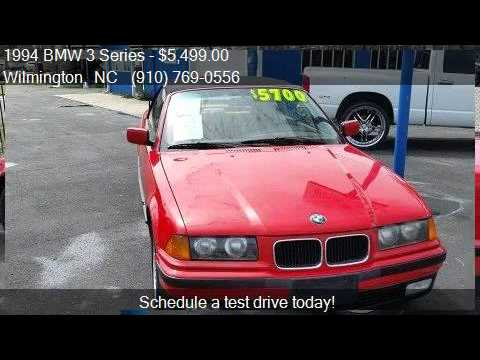 1994 bmw 3 series 325i 2dr convertible for sale in wilmingto youtube rh youtube com