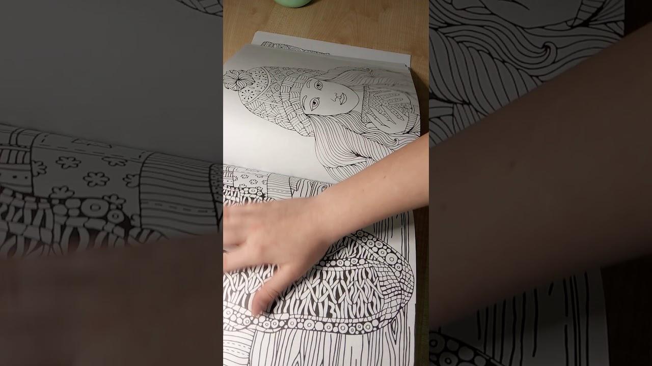 Обзор/раскраски для взрослых/Самая уютная раскраска Хюгге ...