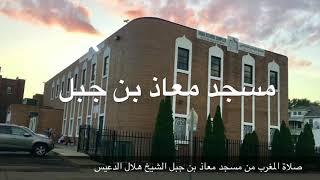 صلاة المغرب الشيخ هلال الدعيس ٢ ذو الحجة ١٤٣٨هـ ٢٤ أغسطس ٢٠١٧م