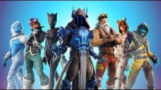 Fortnite showing all new Battle Pass of SEASON 7 Skins