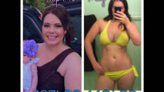 My weightloss transformation video