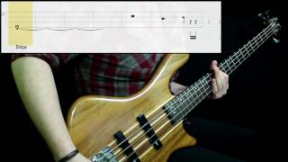 Interpol - Stella Was A Diver And She Was Always Down (Bass Cover) (Play Along Tabs In Video)