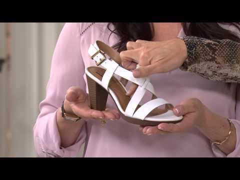 83a69a391faf Clarks Leather Multi Strap Sandals - Jaelyn Fog with Jennifer Coffey