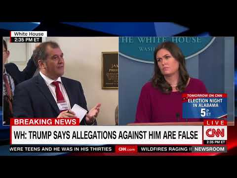 CNN Analyst Asks Huckabee Sanders: 'Have You Ever Been Sexually Harassed?'