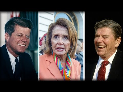 JFK JUST CAME BACK FROM THE GRAVE AND SMACKED NANCY PELOSI IN HER LYING FACE IN FRONT OF AMERICA