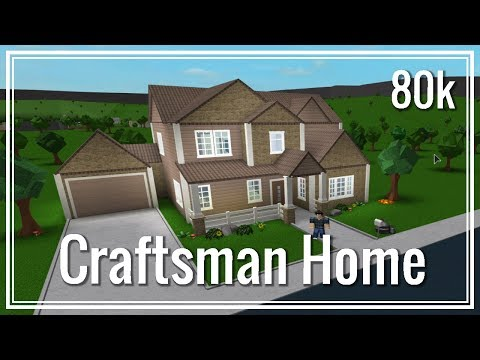 Roblox - Bloxburg: Two-Story Craftsman Home