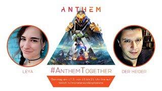 #Werbung Release-Gameplay: Der Heider und Leya ziehen die Javelins an! - Anthem Together (ab 18 Uhr)