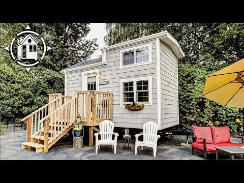 Tiny Beach House on Wheels is Bright, Functional, and Available for Rent
