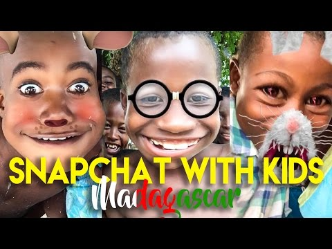 AFRICAN KIDS REACT TO FUNNY SNAPCHAT FILTERS thumbnail