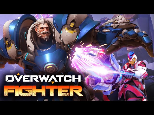 Overwatch As A 2D Beat-Em-Up Looks Awesome | eTeknix