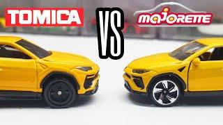 TOMICA VS MAJORETTE - Lamborghini Urus Manufacturer Comparison
