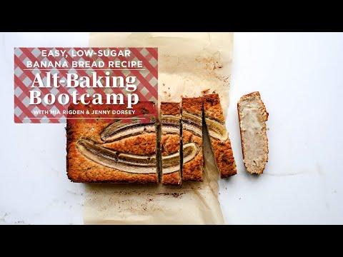 Easy, Healthy Banana Bread Recipe | Alt-Baking Bootcamp | Well+Good