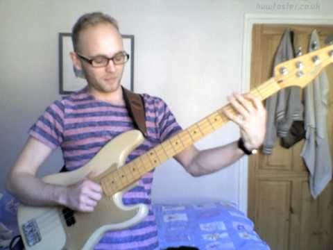 Tower of Power - 'Rock Baby' bass playalong by Huw Foster