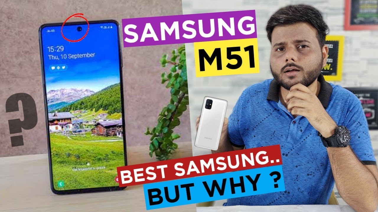 SAMSUNG M51 BUY or NOT @24,999₹ ? - Honest Opinion || Samsung M51 Pros & Cons || Samsung M51