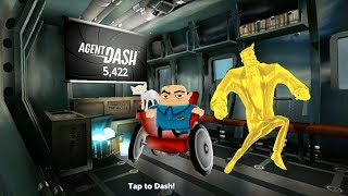 Agent Dash Golden Dash Android/iPad Gameplay - Best Games for Kids.