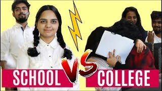 SCHOOL VS. COLLEGE (ft. Small Town Girl)    YIPPIKAY