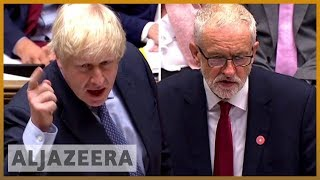 Johnson and Corbyn clash as UK Parliament resumes