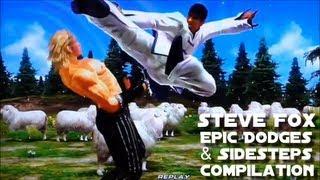 鉄拳 Tekken - Steve Fox Epic Dodges & Sidesteps Compilation #1