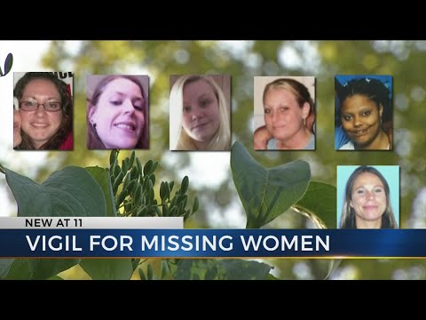 Vigil held for missing women from Ross County