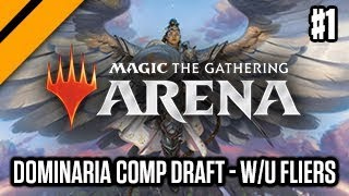 Dominaria Competitive Draft - W/U Fliers P1 (sponsored)