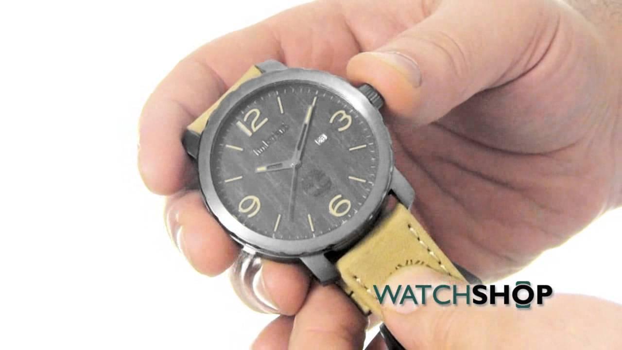 Electropositivo Debilitar Se infla  Timberland Men's Pinkerton Watch (14399XSU/02) - YouTube