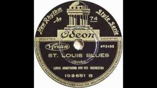 Louis Armstrong + Henry Red Allen 1929 - St. Louis Blues non vocal-#B