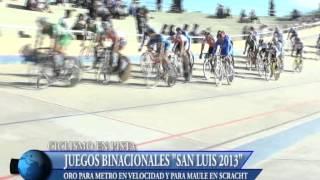 Noticias 13 - Binacionales: Ciclismo Día 1 - 01/10/2013
