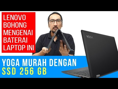 Laptop 2-in-1, Touch Screen, 4 Core, SSD 256GB Yang Murah: Review Lenovo Yoga 330
