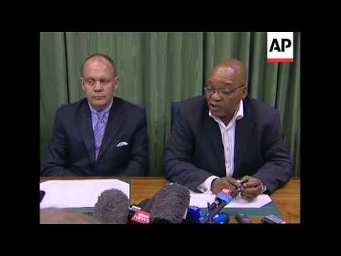 Annan, Carter, SAfrican president debate Zimbabwe situation