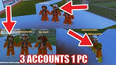 How To Play 2 Roblox Accounts At The Same Time Windows 7 How To Play Roblox With 2 Accounts At The Same Time 2018 Version Without Windows 10 Youtube