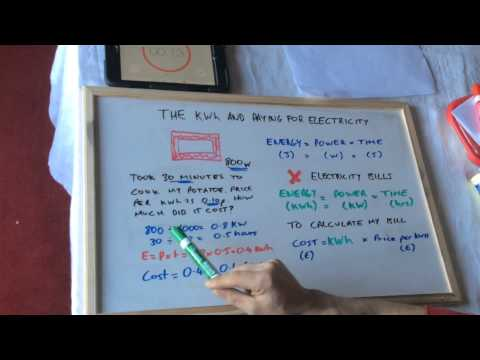 P1 How to calculate KWh and Electricity Bills