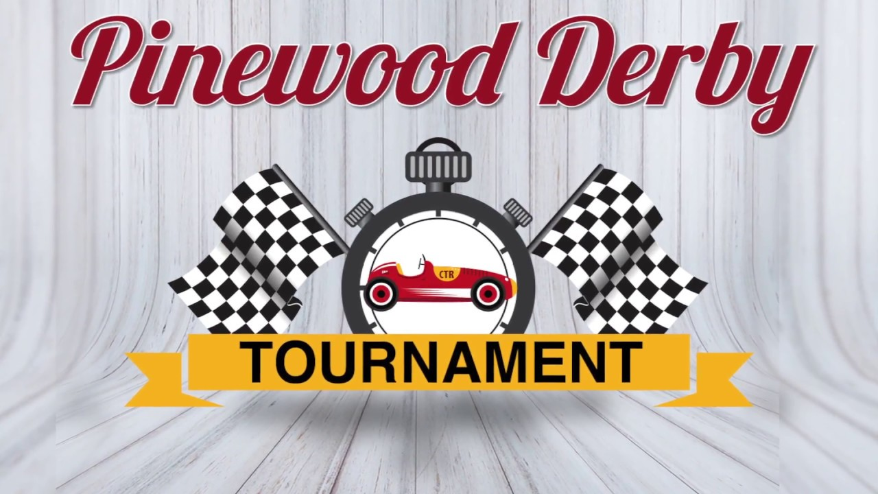 Pinewood Derby Tournament Invite Youtube