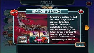 Monster Legends - Breeding Stinger S1 (new legendary)