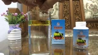 สาธิต การทำงานของส้มแขกผสมเห็ดหลินจือ Daxin