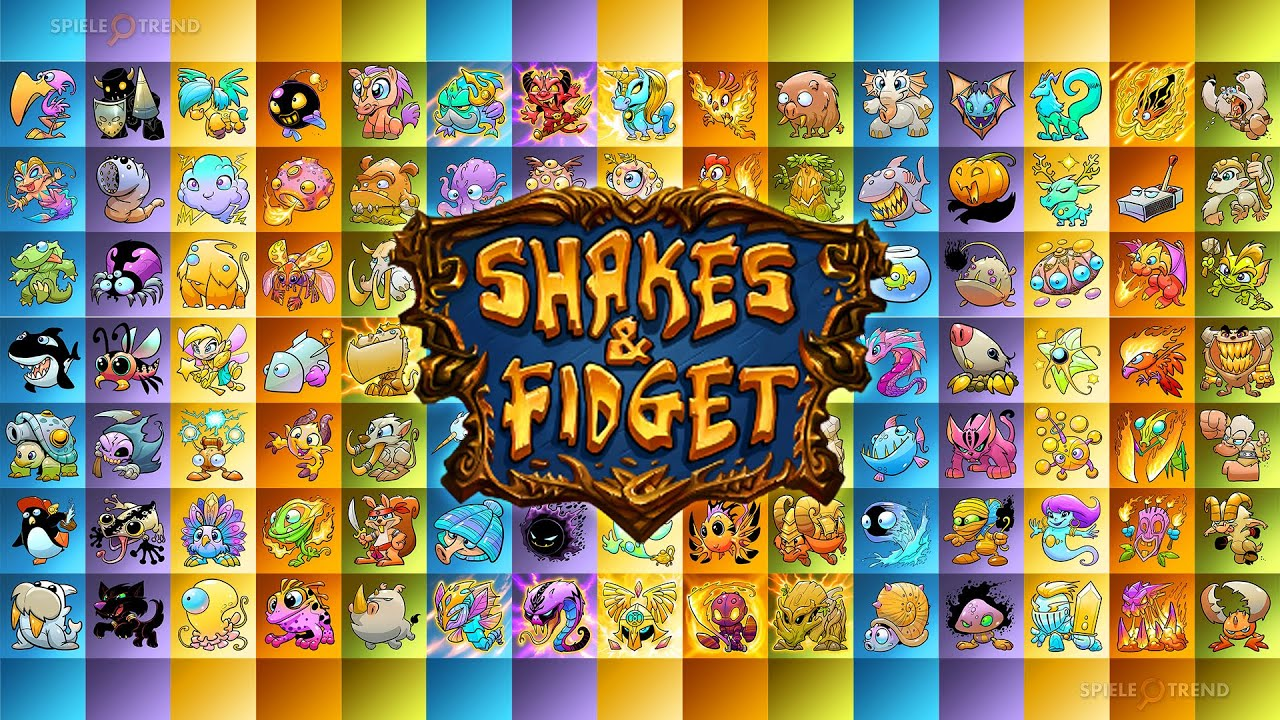 Shakes And Fidget Pet