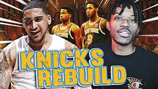 REBUILDING THE NEW YORK KNICKS IN NBA 2K21 NEXT-GEN