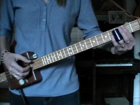 3 string cigar box guitar delta blues attempt youtube. Black Bedroom Furniture Sets. Home Design Ideas