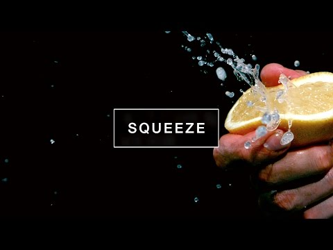 Get Slow Motion Food #1 : Squeeze   Kitchen Verb Pics