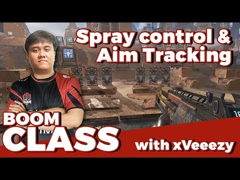 BOOM CLASS #2 - Aim tracking dan Spray Control Apex Legends by xVeeezy