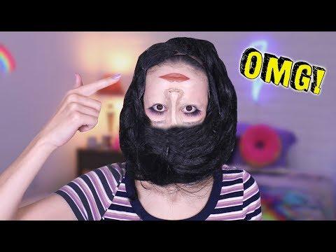 """HOOFD ONDERSTEBOVEN"" MAKE-UP TUTORIAL CHALLENGE - MEISJEDJAMILA  Fan Friday"