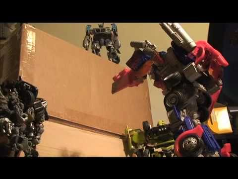 Transformers Stop Motion Diolog Test Youtube