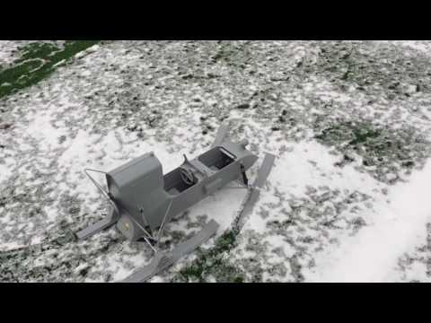 1/6 RF-8 aerosan road test
