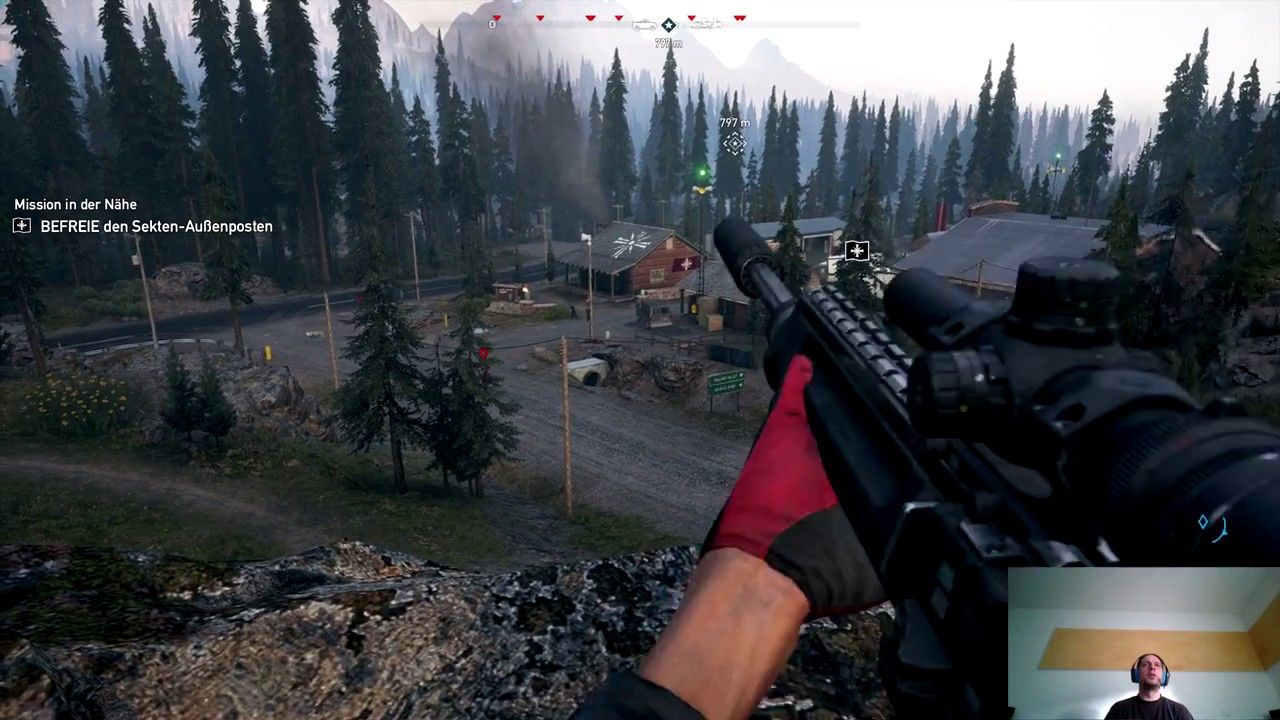 Far Cry 5 Wolfsköder Karte.Far Cry 5 Außenposten In Jacob S Reich Befreien