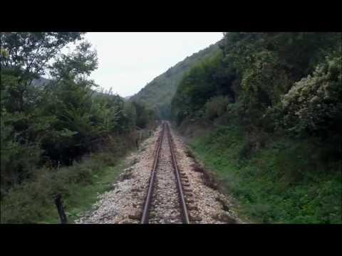 Travel Trains Bulgaria - Rhodope Mountain Railway Part 3
