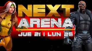    ARENA    Rogue y Nick Fury - Predicciones