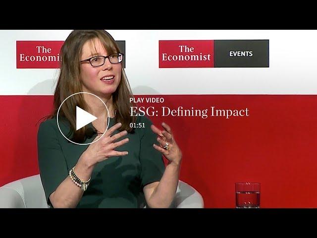 ESG: Defining Impact