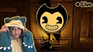 🔴 LIVE! *JUMP SCARES* Bendy and The Ink Machine